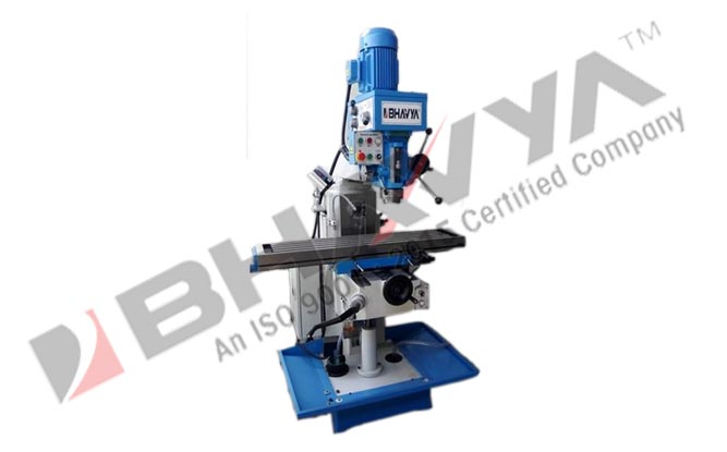 All geared drilling and milling machine