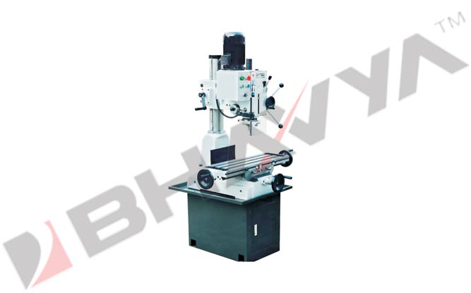 Drilling & Milling Machine (Gear Drive)