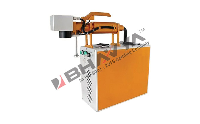 Portable Hand Held Fiber Laser Marking Machine