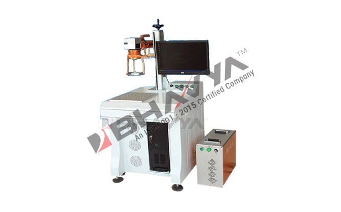 Portable Hand Held Desktop Fiber Laser Marking Machine