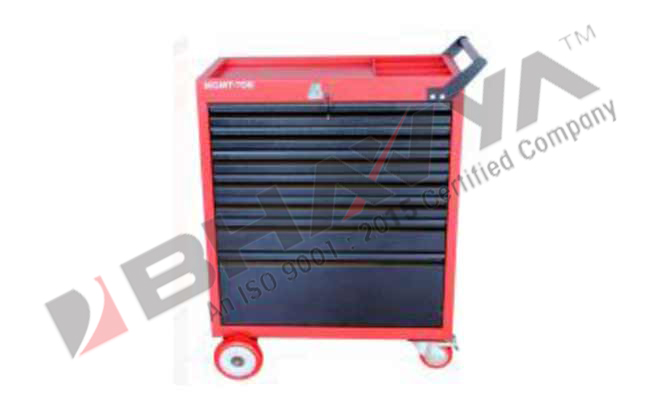 7D Tool Trolley With 7 Drawer
