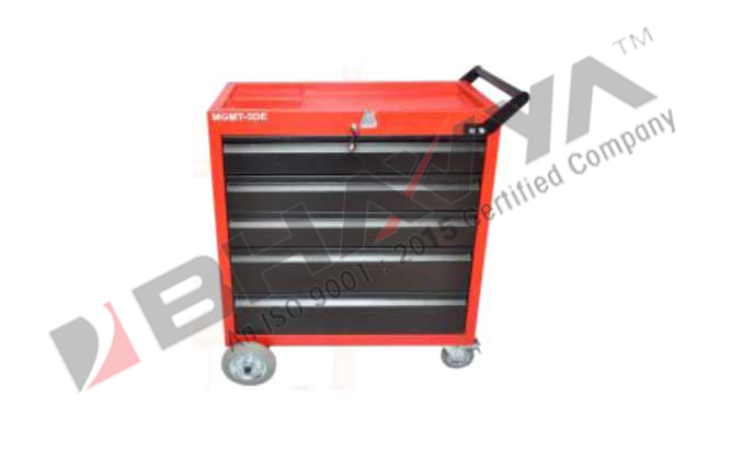 5D Tool Trolley With 5 Drawers