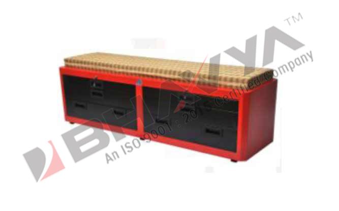 4D2C Tool Cabinet With 4 Drawer & 2 Cabinets