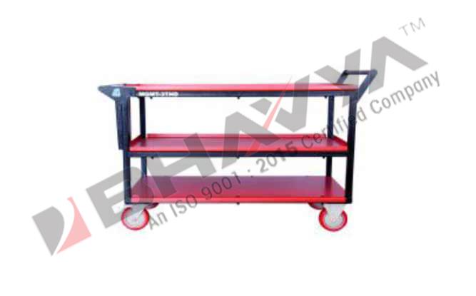 3T HD Heavy Duty Tray Trolley With 3 Tray