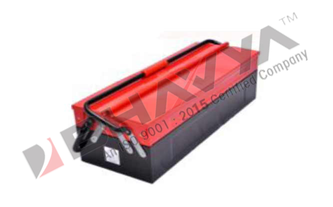 "TB3C Cantilever Tool Box 12""x8""x6"", 18""x8""x6"",  21""x8""x6"" (2.650, 3.7, 4.3 KGS) Three Compartment"