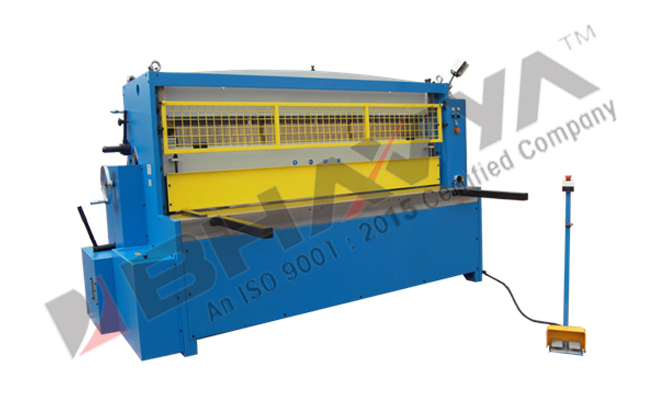 Shear Brake Roller Machine - 3-In-1 Combination - Power Operated