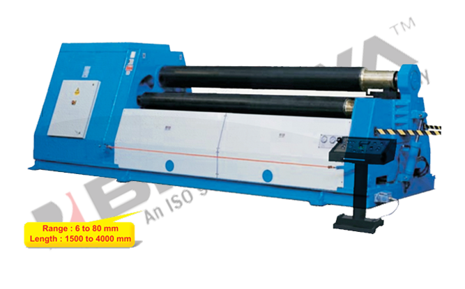 3 Roll Plate Bending Hydro-Mechanical Double Pre-Pinch