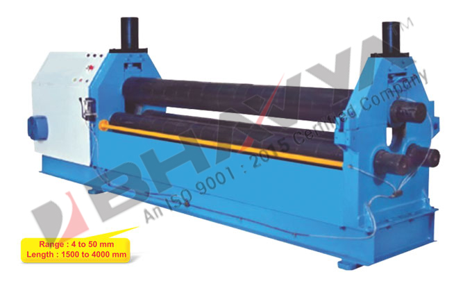 3 Roll Pyramid Type Hydro-Mechanical Plate Bending