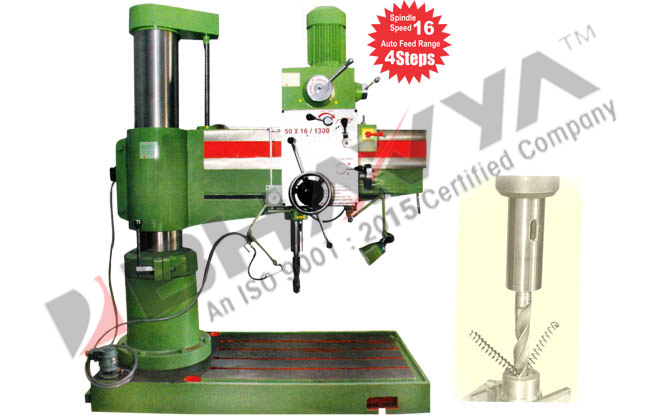 All Geared Heavy Duty Radial Drilling Machine - Radial