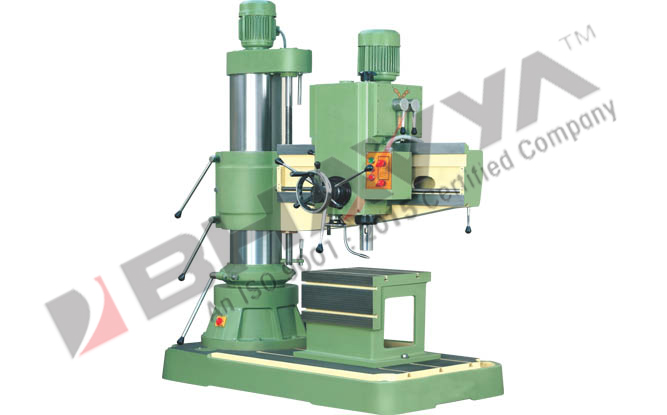 Radial Drill Machine - All Geared Radial Drilling Machine