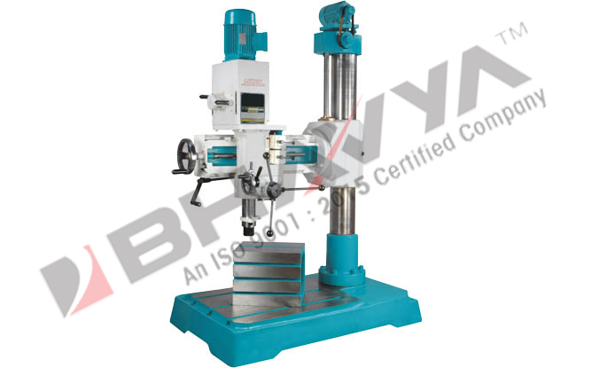 All Geared Radial Drilling Machine (R40G) - Radial Drilling