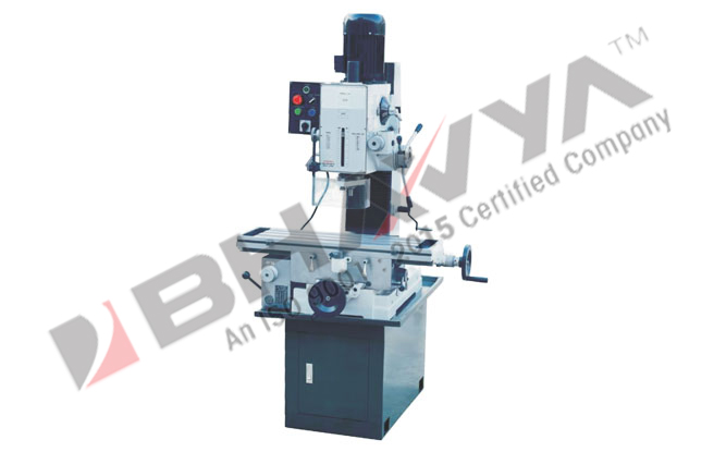Box Type Geared Drive - Auto Feed Work Table