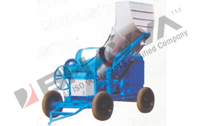 Concrete Mixer (Hydraulically Operated Hopper)