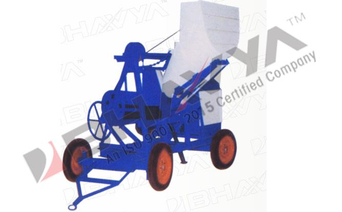 Concrete Mixer (Mechanically Operated Hopper)