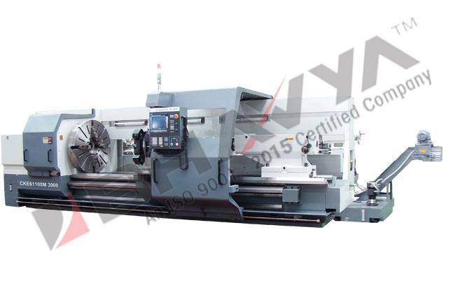 DMTG CKE Series Flat Bed CNC Lathe (CKE61100M-CKE61125M)