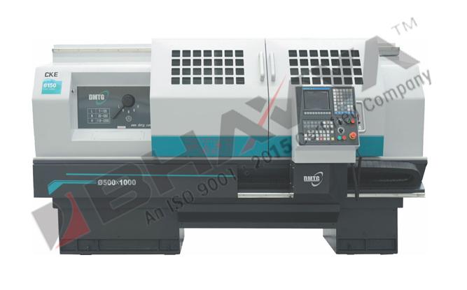CKE Series Flat Bed CNC Lathe (CKE6126L – CKE6140)