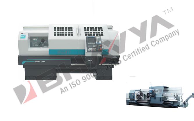 DMTG CKE Series Flat Bed CNC Lathe (CKE6150-CKE6166)