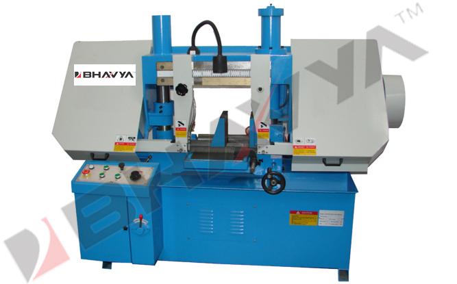 Double Column Semi Automatic Horizontal Bandsaw Machine
