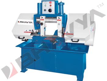 Double Column Semi Automatic Horizontal Bandsaw Machine (Heavy Duty)