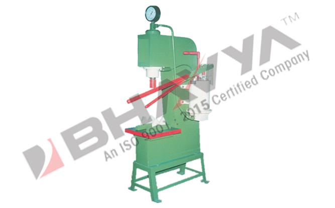 "Hydraulic Press - ""C"" Type Hand Operated"