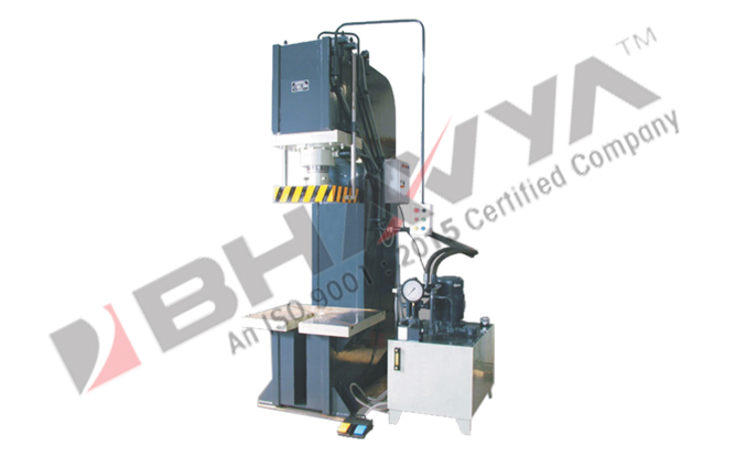 "Hydraulic Press - ""C"" Type Power Operated"