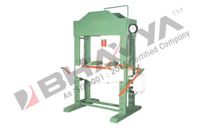 """Hydraulic Press - """"H"""" Type Hand Operated"""