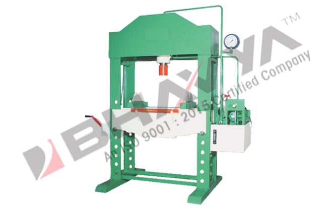 """Hydraulic Press – """"H"""" Type Power Operated"""