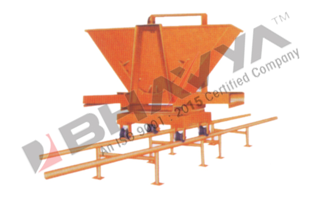 Slab Trolley With Rails