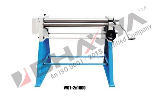 Slip Roll - Hand Operated Slip Roll Machine