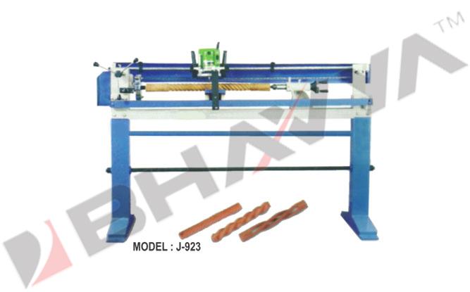 Wood Working Machine (Basic Spiral Lathe)