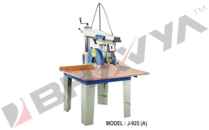 Wood Working Machine (Circular & Radial Saw - Radial Saw)