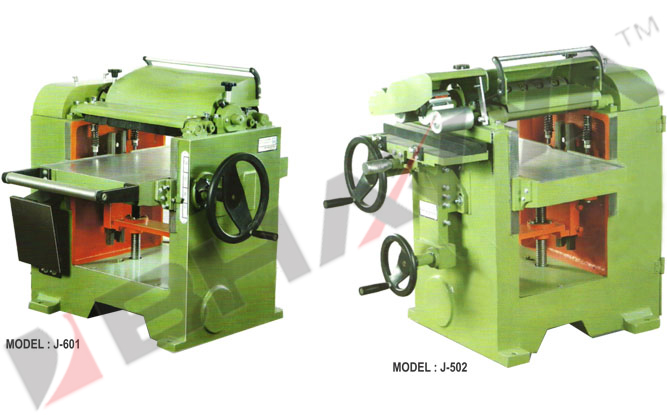 Wood Working Machine (Thickness Planers J-601, J-502)
